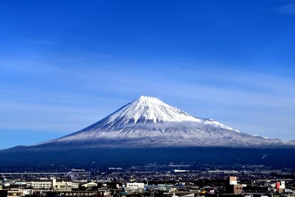 富士市からの富士山 アマチュアカメラマン投稿ギャラリー 富士山 chafuka