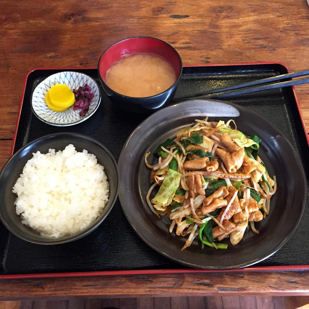 ジヤトコ 前 和食 わたし の 食堂